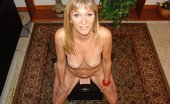 Real Orgasm Videos Mature Blonde Has An Intense G-Spot Orgasm Riding The Sybian