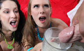 Cum Shot Surprise Chelsie Rae Wild Girls Get More Than They Handle From These Cum Freaks