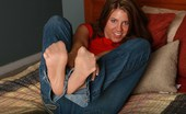 Blue Eyed Cass 208620 Blueyed Cass Wearing Pantyhose Under Her Jeans.