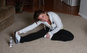 Blue Eyed Cass 208646 Blueyed Cass Gets Hot From Working Out