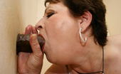 Mature Gloryhole This Big Titted Mature Slut Gets A Taste Of Cock