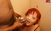 Mature Gloryhole Hot Grannie Loves Big Cock