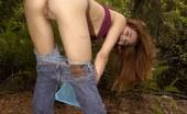 Jenny Heart Bend-Over Bushless Babe