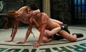 Ultimate Surrender Naked F/F Sex Wreslting, Non Scripted, Winner Fucked The Loser.