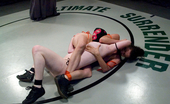 Ultimate Surrender Non-Scripted Full Nude F/F Brutal Sex Wrestling At It'S Best