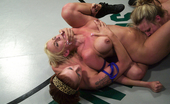 Ultimate Surrender Tag Team Nude F/F Wrestling Leauge Action! Hardcore Fingering.