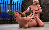 Ultimate Surrender Delilah Strong Loses Catfight And Gets Brutally Fucked By Winner.