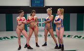 Ultimate Surrender Amazing TAG TEAM Nude Wrestling, All Real Non Scripted Action!!!!