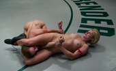 Ultimate Surrender Two Girls Battle Naked, Brutal Wrestling, Loser Ass Fucked!!