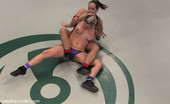 Ultimate Surrender Two Big Titted Blonds Catfight, Winner Fucked The Helpless Loser.