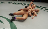 Ultimate Surrender 4 Girls Wrestling In The Only Non-Scripted Catfighting On The Net! Brutal Real Sex Fighting!!