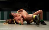 Ultimate Surrender 213832 Fitness Model Takes On Rookie. The Rookie Has Skills, And The Fitness Model Is Struggling For Personal Pride. Brutal Non-Scripted Sex Wrestling!
