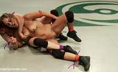 "Ultimate Surrender Promising Rookie Odile, ""The Dynam-O"" Shows Newbie Reena ""The Tigress"" Sky What This Mat Is All About!"