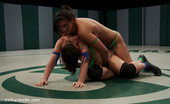 Ultimate Surrender 213914 Penny Barber Completely Dominates Tina Horne In An Embarrassing Competitive Female Wrestling Match. Winner Fucks The Losers