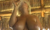 Claudia Marie 0612mextub Enjoys A Cuban Cigar Naked In Mexico