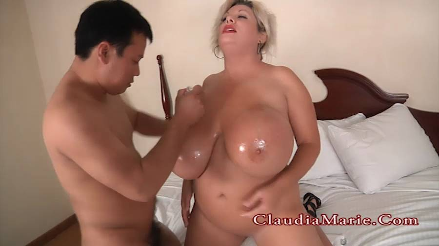 Big Tits Asian Public Bus