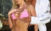 Wicked.com Nikki Benz The Busty Bimbo Nikki Benz Is Naked Outdoor Riding And Sucking The Stiff Dick
