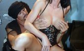 Wicked.com Melissa Lauren Girl In Latex Melissa Lauren Serves As The Means Of Pleasure For These Excited Guys