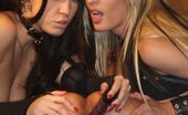 Wicked.com Roxy Deville 215123 Luscious Roxy DeVille And Her Kinky Girlfriend Torture And Please Another Chick'S Nub