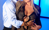 Wicked.com Abbey Brooks Gorgeous Blonde Abbey Brooks Throats Dick And Squeezes It Between Her Big Tits