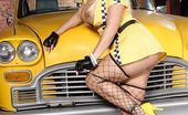 Wicked.com Shyla Stylez Busty Milf In Uniform And Fishnet Stockings Shyla Stylez Is Dirty Enough To Show Treasures