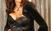 Wicked.com Julia Ann This Busty Milf Julia Ann Is Seductively Squeezing The Big And Hot Boobs