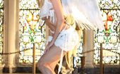 Wicked.com Jessica Drake You Will Feel The Movement In Your Pants When See This Seducing Half Naked Angel Jessica Drake
