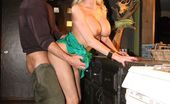 Wicked.com Stormy Daniels Insatiable Blonde Stormy Daniels Has Her Pussy Fingered And Thrashed In The Public WC Room