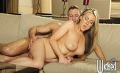 Wicked.com Carolyn Reese Busty Blonde Babe Carolyn Reese Enjoys Oral Sex And Gets Deeply Owned From Every Angle