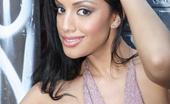 Wicked.com Ice La Fox The Naughty Latina Girl Ice La Fox Kinkily Shaking The Small Naked Boobs