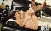 Wicked.com Brooklyn Lee 216243 Redhead Babe Brooklyn Lee Teases With The White Lingerie And Also With Nude Body