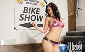 Wicked.com Charley Chase Busty Brunette Charley Chase Shaking Boobs And Inviting To The Bike Show With Nude Pussy