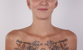 Czech Casting Alexandra (4222) 217407 The Girl With The Dragon Tattoo... Well, Alex Doesn'T Really Have A Dragon Tattooed On Her Young Body, But Her Body Is Covered In Many Tattoos. She Has Pierced Nipple And She'S Planning Even More Tattoos. Yeah, Alex Is A Girl That Makes You Careful, Becau
