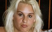 First Sex Video Elke Horny Elke Satisfies Two Guys On Her Porn Testing