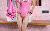 Saffron Taylor Http://Saffrontaylor.Com/Promo/Fhg/Pinkrubberboudoir In Her Pink Rubber Boudoir