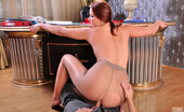 Anal Pantyhose Megan & Benjamin 219927 Frisky Babe Gets Her Asshole Licked Through Her Tights Before Backdoor Fuck