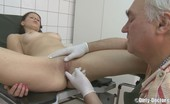 Dirty Doctor Skinny Teen Examined And Then Fucked By Old Doctor
