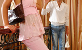 Strapon Sissies Trudy & Cyrus Lewd Sissy Lowers His Denim Aching To Feel Every Thrust Of A Gal'S Strap-On