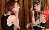 Strapon Sissies Jess & Randolph Kinky Sissy Guy Hiking Up His Skirt And Kneeling Down For Strap-On Screwing