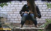 Piss Hunters Hottie Pees Outdoors
