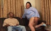 Chubby Sistas Shyy & Dwayne Cummings Big Booty Black BBW Taking Giant Cock
