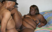 Chubby Sistas Mahagany & Cherry Wauld & Aurin Arefu Two Big Black Woman Share A Big Dick