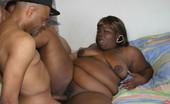 Chubby Sistas Mahagany & Cherry Wauld & Aurin Arefu Two Big Black Woman Share A Big Dick