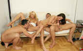 Euro Sex Parties Linda Super Hot Euro Gang Bang Action Here In These Steamy Pics
