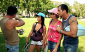 Euro Sex Parties Lorinda Amazing Hot Ass Long Leg Euro Babes Meet Up In The Park For An Amazing Full On Anal Ass And Mouth Fucking Orgy In These Hot Pics And Big Movie