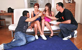 Euro Sex Parties Eliska 2 Hot Red Head Euro Babes Suck And Get Fucked In Their Hot Asses In This Hot Group Sex Update