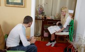 Fuck Studies 227134 Blonde Teen Girl Gets Fucked By Her Tutor Heather Is A Very Cute Coed Babe That Is Having A Little Trouble With Her Homework. Her Tutor Is An Upperclassman That Has Been Having Trouble Getting A Nut And He Sees The Chance To Score Some Hot Little Pussy. H