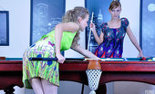 Backdoor Lesbians Barbara Rosa Having Anal Lesbian Sex Dolled-Up Lesbians Go For Strapon Backdoor Fucking On The Billiard Table