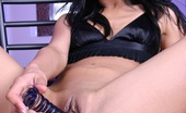 Asian Sweety Jade Marcela Uses Her Big Purple Dildo