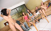 Spicy Roulette Petite Teen Girls Play Strip Poker And Enjoy Group Fuck